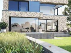 Reynaers Aluminium, MASTERPATIO Porta-finestra a taglio termico scorrevole con triplo vetro