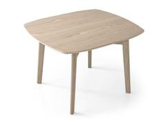 Tavolino quadrato in frassino MATCH | Tavolino quadrato - Match