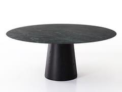 Tavolo da pranzo rotondo in marmoMATERIC - PORRO