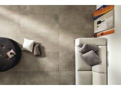 Pavimento/rivestimento in gres porcellanato effetto pietraMATERIE HIGH TECH - FANGO - ARIOSTEA