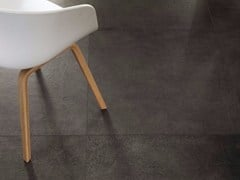 Pavimento/rivestimento in gres porcellanato effetto pietra MATERIE HIGH TECH - LAVA - MATERIE HIGH TECH