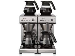 Caffettiera americana in acciaio inox con allaccio idricoMATIC TWIN - BRAVILOR ITALIA