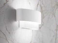 Applique a LED in metallo e vetro sabbiatoMATRIOSKA - LINEA LIGHT GROUP