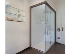 CARMENTA, MATRIX Bagno turco con doccia con cromoterapia