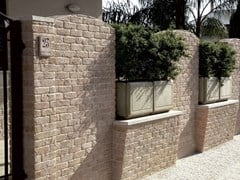 PRIMICERI MANUFATTI, MATTONE OCRA Rivestimento in pietra