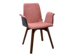 Sedia imbottita con braccioliMAVERICK | Sedia con braccioli - KFF GMBH & CO. KG
