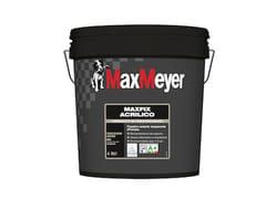 Fondo fissativo a base di resine acriliche all'acquaMAXFIX ACRILICO - MAXMEYER