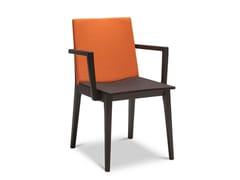 Sedia in faggio con braccioli MAXIM FULL 173 - Maxim Full