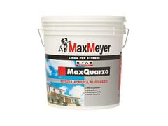 Pittura acrilica a base di quarzoMAXQUARZO - MAXMEYER