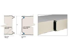 Pannelli bilamiera per camere freddeMB COLD-PRO - PFD • PFL - MARCEGAGLIA BUILDTECH