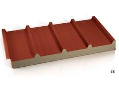 Pannelli coibentati per copertura in lana di rocciaMB FIRE-PRO ROOF - MTD - MARCEGAGLIA BUILDTECH