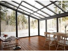 Drutex, MB-WG60 Giardino d'inverno in alluminio e vetro