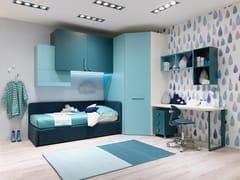 Cameretta in legno con divano lettoMC010 | Cameretta - MORETTI COMPACT
