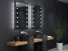 UNICA by Cantoni, MDE 505 Specchio rettangolare con illuminazione integrata per bagno