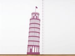 Decorazione adesiva in vinileMEASURING SOUVENIR PISA - MOUSTACHE