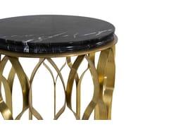 Tavolino rotondo in ottoneMECCA   Tavolino da salotto - BRABBU DESIGN FORCES