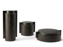 Contenitore in metallo e pietraMECCANISMI - VISIONNAIRE BY IPE