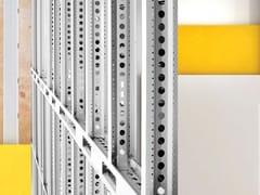 Sistema a secco con struttura portante in acciaioMECHANO STEEL FRAME - SCAFFSYSTEM