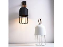 Lampada da tavolo a LED senza fili in ferro e vetroMEDÙ | Lampada da tavolo senza fili - ZAVA