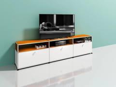 Mobile TV basso in metalloMEDIA 13 - USM