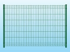 Recinzione modulare in rete elettrosaldataMEDIUM VERDE - FERRO BULLONI ITALIA