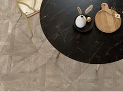 Pavimento/rivestimento in gres porcellanato effetto legnoMEET ALLURE AZEL - CERAMICHE CAESAR