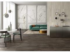 Pavimento/rivestimento in gres porcellanato effetto legnoMEET ECLECTIC BROWN - CERAMICHE CAESAR