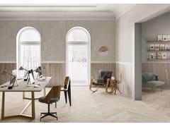 Pavimento/rivestimento in gres porcellanato effetto legnoMEET SCANDI WHITE - CERAMICHE CAESAR