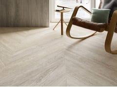 Ceramiche Caesar, MEET SCANDI WHITE Pavimento/rivestimento in gres porcellanato effetto legno