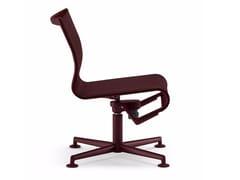 Sedia ufficio operativa girevole a 4 razze MEETINGFRAME LOUNGE 52 - 433 - Frame 52 / Frame 52 Soft