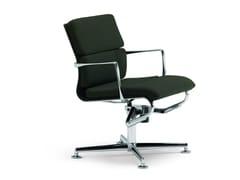 Sedia ufficio operativa ad altezza regolabile girevole con braccioli MEETINGFRAME LOUNGE 52 SOFT - 469 - Frame 52 / Frame 52 Soft