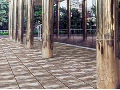 Pavimento per esterni in pietra ricostruitaMEGA 60X40 - BAGATTINI