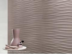 Rivestimento tridimensionale in ceramica a pasta bianca MEK WALL | Rivestimento tridimensionale - Mek