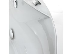 Vasca da bagno a 2 posti angolare idromassaggioMELI' - KAROL ITALIA