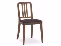 Sedia in legno massello MELISSA LEATHER - CLOTH - Melissa