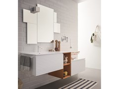 Mobile lavabo componibile laccato MEMENTO COMP. 7 - Memento