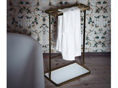 Porta asciugamani da terra in acciaio inoxMEMORY | Porta asciugamani da terra - AGAPE