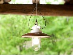Lampada a sospensione per esterno in gres porcellanatoMERANO | Lampada a sospensione per esterno - ALDO BERNARDI