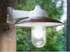 Lampada da parete per esterno a luce diretta e indiretta in gres porcellanatoMERANO | Lampada da parete per esterno - ALDO BERNARDI