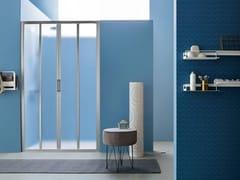 ARBLU, MERCURIO | Box doccia con porta a soffietto  Box doccia con porta a soffietto