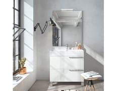 Mobile lavabo da terra con specchioMERCURY 02 - BMT