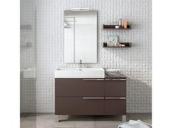 Mobile lavabo da terra con specchioMERCURY 05 - BMT