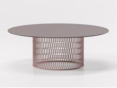 Tavolino da giardino in alluminioMESH | Tavolino in alluminio - KETTAL