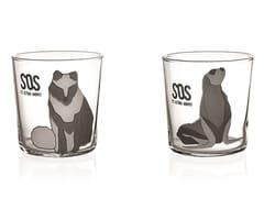 Set di bicchieri da acqua in vetroMESSAGE IN A GLASS - INDUSTRIA VETRARIA VALDARNESE