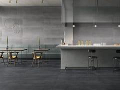 Pavimento/rivestimento in gres porcellanato effetto metalloMET-ALL - CERAMICHE SUPERGRES