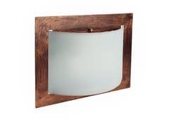 Lampada da soffitto / lampada da parete in vetro e metalloMET WALLY - LINEA LIGHT GROUP