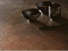 COTTO D'ESTE, METAL - CORTEN Pavimento/rivestimento in gres laminato effetto metallo