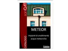Progetto e verifica raccolta e smaltimento acque meteoricheMETEOR - COINTEC