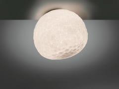 Lampada da soffitto alogena in vetro soffiato METEORITE | Lampada da soffitto - Meteorite