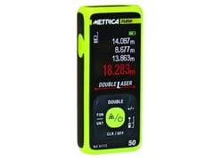 Distanziometro laserMETRICA DOUBLE LASER 50 - METRICA